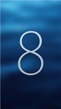 苹果ios8简约大屏幕智能手机壁纸