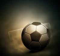 足球尘土球门矢量素材下载