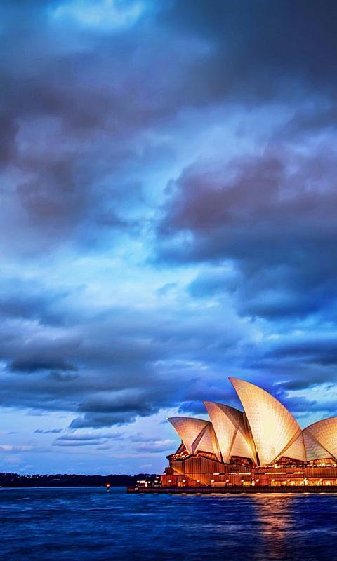 蓝色海洋高清iphone手机壁纸