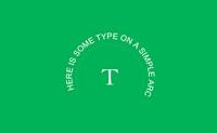jQuery字体变形插件Circletype