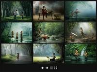 jQuery网格视图图片画廊