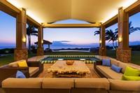 海边酒店室外度假区高清图片下载
