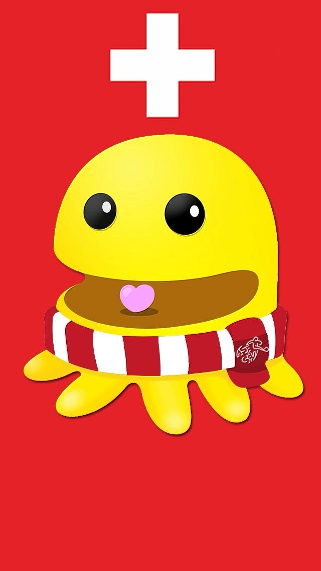 2014世界杯章鱼君小米手机壁纸
