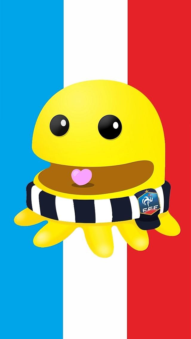 2014世界杯章鱼君大屏幕智能手机壁纸