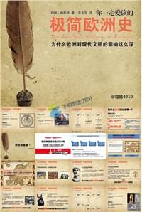 极简欧洲史怀旧风格世界历史课件ppt模板免费下载