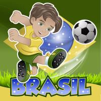巴西足球运动员矢量素材下载
