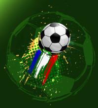 世界杯足球矢量素材下载