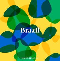 巴西世界杯屏保矢量素材下载