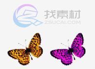 精美蝴蝶图标下载