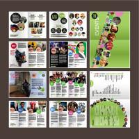 旅游宣传手册设计矢量素材下载