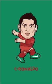 2014世界杯卡通人物苹果安卓手机壁纸