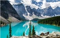 加拿大班夫风景桌面壁纸唯美小清新