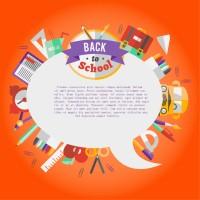 校园网页留言板设计矢量素材下载
