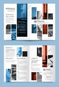 商务宣传手册设计矢量素材下载