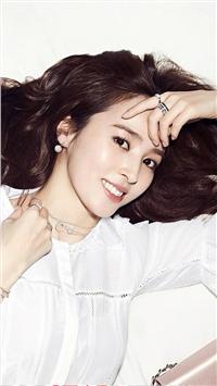 韩国美女韩惠珍手机壁纸