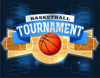 篮球球队LOGO标题矢量素材下载