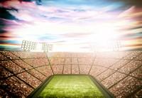 人山人海巨大球场高清图片下载