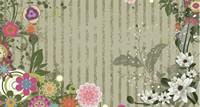 欧式鲜花边框背景高清图片下载
