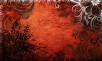 欧式花纹边框红色背景高清图片下载