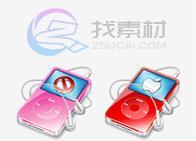 苹果ipod桌面图标下载