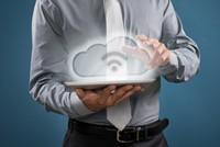 创意展示平板电脑云存储高清图片下载