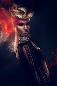超酷时尚欧美女模高清图片下载