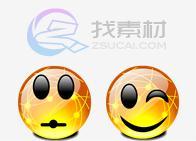 水晶表情桌面图标下载
