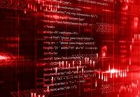 红色网络科技计算机代码高清图片下载