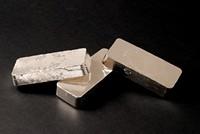 银白色金属方块高清图片下载