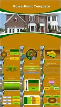 房产房屋销售介绍ppt模板免费下载