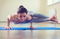 做瑜伽运动的美女高清图片下载