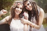 美丽迷人青春美女高清图片下载