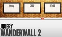 jquery图片墙滑动展示