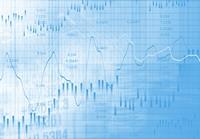 股市经济走势图数据高清图片下载