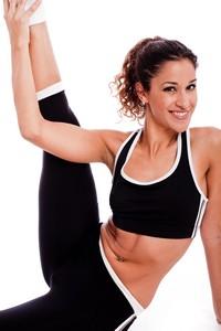 健身美女锻炼高清图片下载