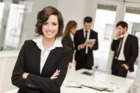 自信魅力气质商务女子高清图片下载