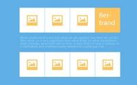 jQuery图片内容展开收缩选项卡