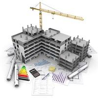 三维立体建筑设计模型高清图片下载