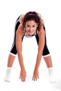美丽运动健身女子高清图片下载