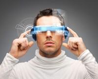 高科技头戴显示器高清图片下载
