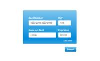 信用卡表单验证插件Creditly