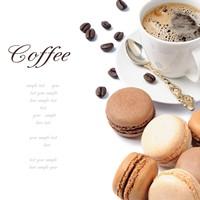 美味咖啡与甜点小食高清图片下载
