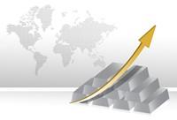 商务背景世界地区增长业绩高清图片下载