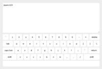 jQuery软键盘插件