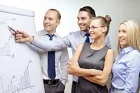 商务团队业绩分析高清图片下载