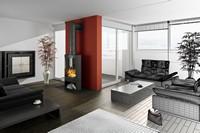 流行时尚宽敞客厅高清图片下载