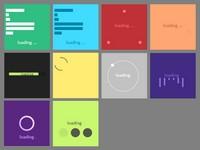 10款CSS3进度条Loading动画