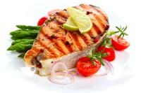 美味诱人鱼排套餐高清图片下载
