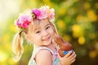 可爱迷人小女孩高清图片下载