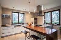 宽敞实用厨房吧台高清图片下载